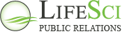 LifeSci Public Relations Sticky Logo
